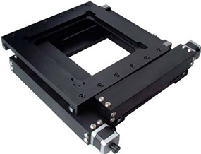 二维电动平移台:SNS-D-202ZW100X100
